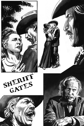 Sheriff Gates Law of the Desert Born