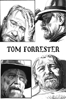 Tom Forrester Law of the Desert Born
