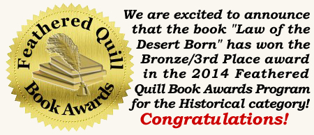 Bronze Prize Winner Feathered Quill Award 2014